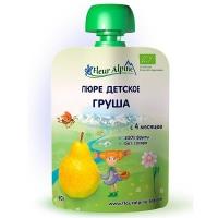 Детское пюре Fleur Alpine ГРУША 90 гр. Organic для детей с 4 мес.