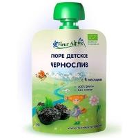 Детское пюре Fleur Alpine ЧЕРНОСЛИВ 90 гр. Organic для детей с 4 мес.