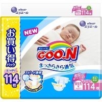 Подгузники Goon Ultra Jumbo Pack NB (0-5 кг) 114 шт.
